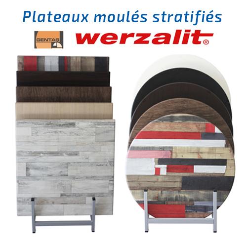 Plateaux de tables moulés